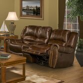 Motion Neptune Leather Reclining Loveseat