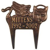 Pet Memorial / Angel-Cat Plaque