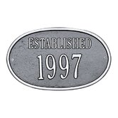"Date ""Established"" Standard Wall Plaque"