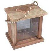 2 Lb Capacity Redwood Hanging Feeder