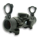 1x30 T-Style Red Dot Sight with 4 Different Reticles in Black