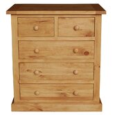 Devon 2 Over 3 Drawer Chest
