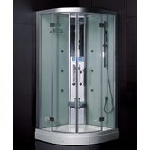 Platinum Neo-Angle Door Steam Shower
