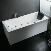 59&quot; x 30&quot; x 25&quot; Whirlpool Bath Tub