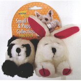 Squatter Panda/Rabbit Dog Toy (2 Pack)