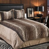 Kimba Leopard Comforter Set