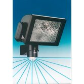 HS500 500W PIR Sensor Floodlight with override in Black