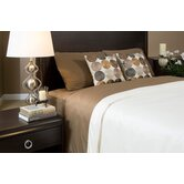 Duvet Cover Collection in Mocha and Ivory