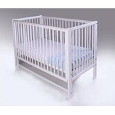 Louisa Dropside Cot in White