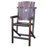 Bar Arm Chair with Star