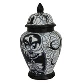 Castillo Family Lifes Mysteries Ceramic Urn