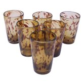 Javier and Efren Conical Glass (Set of 6)