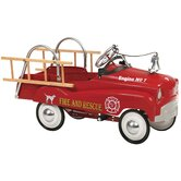 Fire Truck Pedal Car