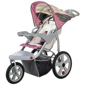 Grand Safari Swivel Wheel Single Stroller