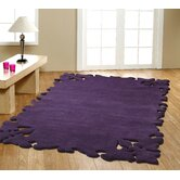 Elegance Simplicity Purple Rug