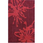 Pop Fireworks Red Rug