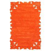 Posh Orange Rug