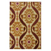 Marbella Symphony Ikat Gold Rug