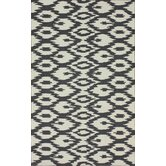 Pop Soft Grey Ikat Rug