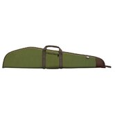 Deluxe Scoped Rifle Case with Pocket in Green