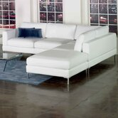 Domicile Loft Leather Sectional
