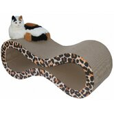Giant Swirl Lounge Recycled Paper Cat Scratching Board