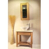 Aquarius Bathroom Single Wash Stand with Shelf