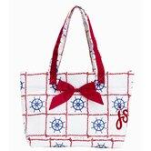 Violet Linen Handbags