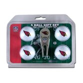NFL Divot Tool and 4 Golf Ball Gift Set