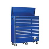 "56"" Combo Tool Chest and Roller Cabinet in Blue"
