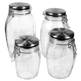 Lock Tight Jars (Set of 4)