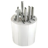 Kitchen Knife Holder in White (Set of 6)