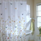 Garden Flight Vinyl Shower Curtain