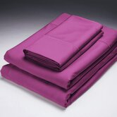 Bamboo Sheet Set in Berry