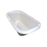 "69"" x 39"" Air Massage Drop-In Bath Tub"