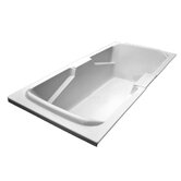 72&quot; x 36&quot; Whirlpool Arm-Rest Bath Tub