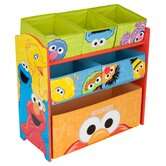 Sesame Street Multi Bin Organizer