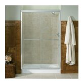 Fluence Bypass Sliding Shower Door