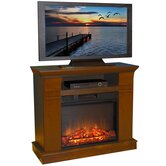 Kenwood 38&quot; TV Stand with Electric Fireplace