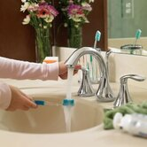 Eva Widespread Bathroom Faucet with Double Lever Handles