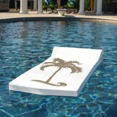 Luxe Sunsation Pool Float in White