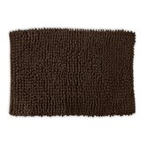 "Loop Twist Bath Mat in Mocha 1'8"" x 2'8"""