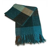 Scotch Chenille Throw in Teal