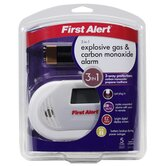 Combination Explosive Gas and Carbon Monoxide Alarm
