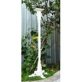 Pedestal Bird House Column with Auger