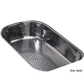 Oceania Polished Steel Colander