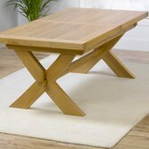 Avignon Solid Oak Extending Dining Table