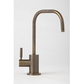 Fulton One Handle Single Hole Hot Water Dispenser Faucet with Lever Handle