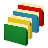 "Accordion File Pockets, 9.5"" x 11.75"", 3.5"" Expansion, Various Colors"