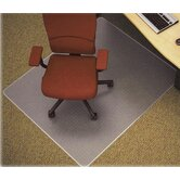Medium/Plush Pile Carpet Beveled Edge Chair Mat